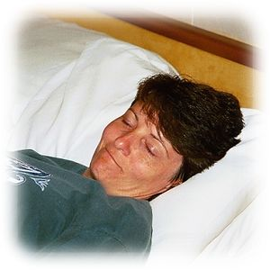 After long day of sightseeing, Wendy is glad to catch a few winks in the room. She always sleeps with a smile on here face, even when Rick is snoring!