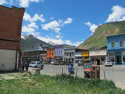 Silverton, Colorado -- our destination.