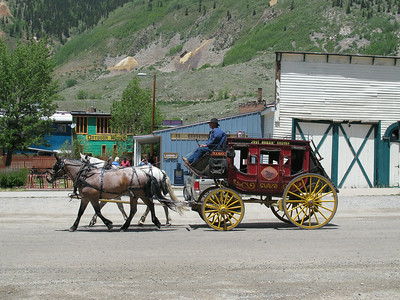 Silverton offers tourists a variety of options  -- carriage rides, museums, shops, and restaurants.