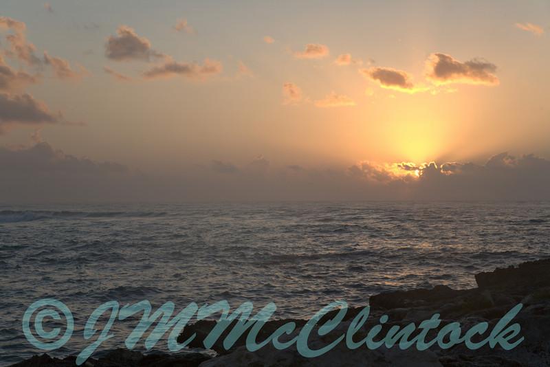 Mayan Riviera sunrise