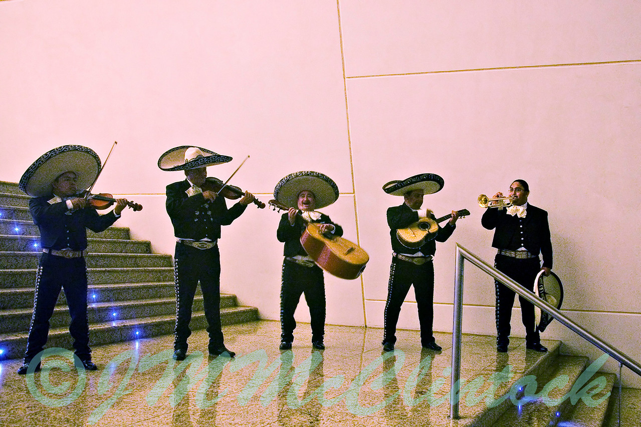 The mariachi band.  They played in the buffet on the Mexican theme night.  Grand Sirenis.  Riviera Maya.
