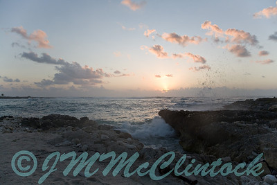 Mayan Riviera sunrise.