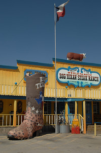 Amarillo, TEXAS, Big Sky, Big Steak, Big Boots too.
