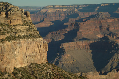 The Grand Canyon National Park - View from the Lodge @ South Rim