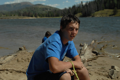 Joshua at Steamboat Springs Lake, Colorado