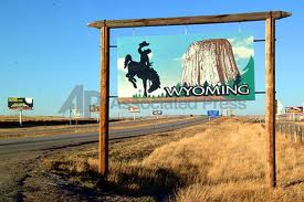 The Wyoming Border