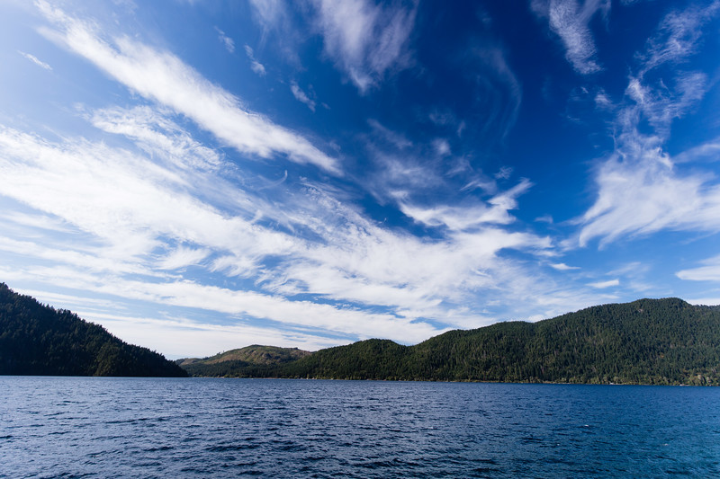 Lake Crescent Sky