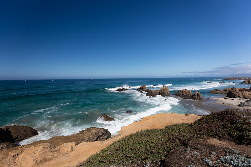 Coast near Glass Beach