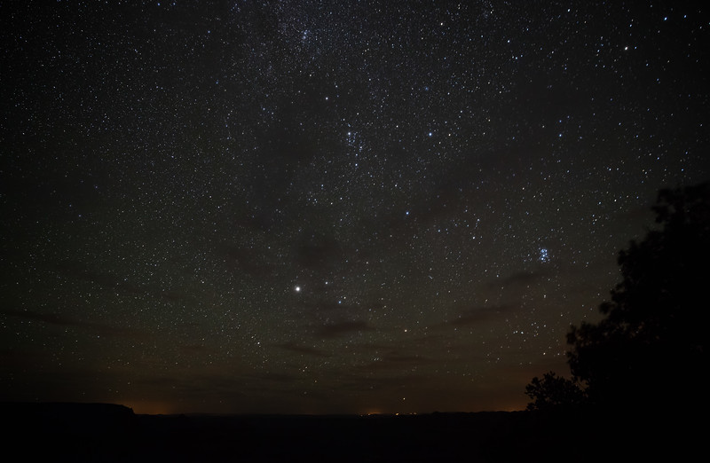 North Rim at Night