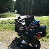 In het Tsjechische bos, was wel een mooi stukje om te rijden