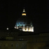 The view of St Peter's basilica from our window. We were located across the street from the Vatican.