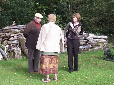 George, Mom, Margaret