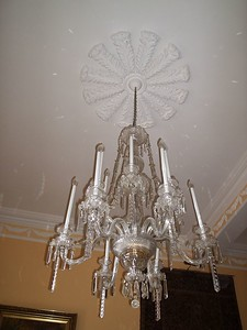 antique Waterford chandalier