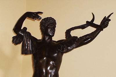 foyer statue
