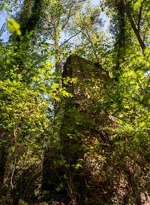 Original mill destroyed during the civil war.