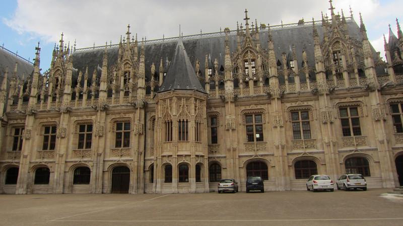 Le palais de Rouen