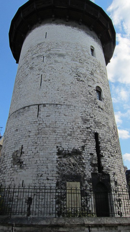 Tower where Jeanne d'Arcwas held and tortured