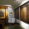 lower lobby, lined with memorabilia and names of Club members' finalists, dated from 1878.