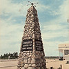 Geographical Center of North America - corner of highway 2 and 3 in North Dakota<br /> <br /> this monument has been moved across ( SE ) the highway and remains at the intersection of highway 3 and 3