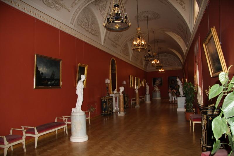 Yussupov Palace where Rasputin was assassinated