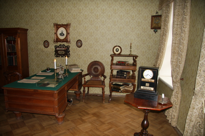 Last place Dostoevsky lived<br /> Room he died in