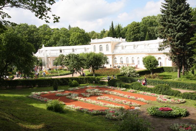 Peterhof Gardens Built by Peter the Great