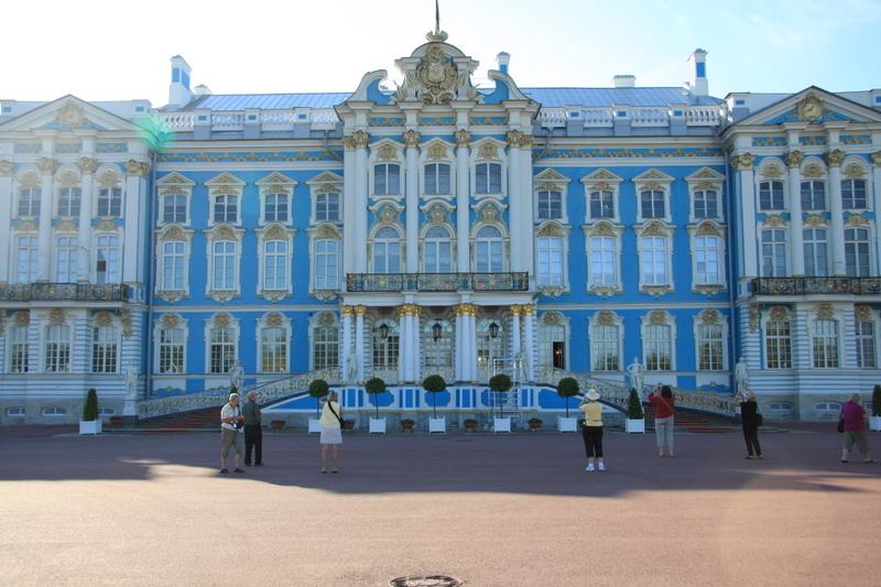 Catherine Palace in Pushkin