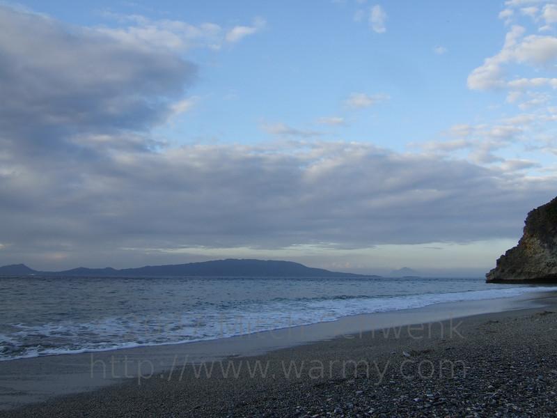 Beautiful beach scenes on White Beach, Puerto Galera, Philippines.