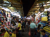 Night market, home of cheap knockoffs and pushy sex workers.