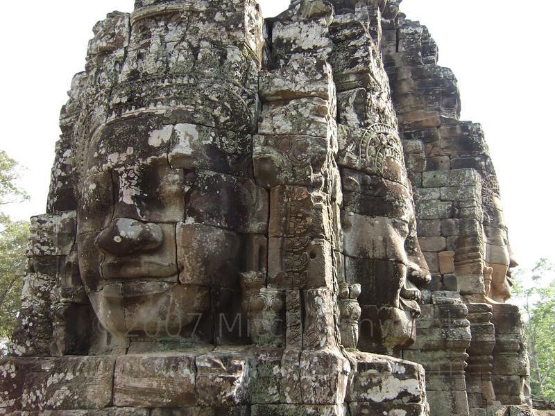 Bayon at Ankor Thom.