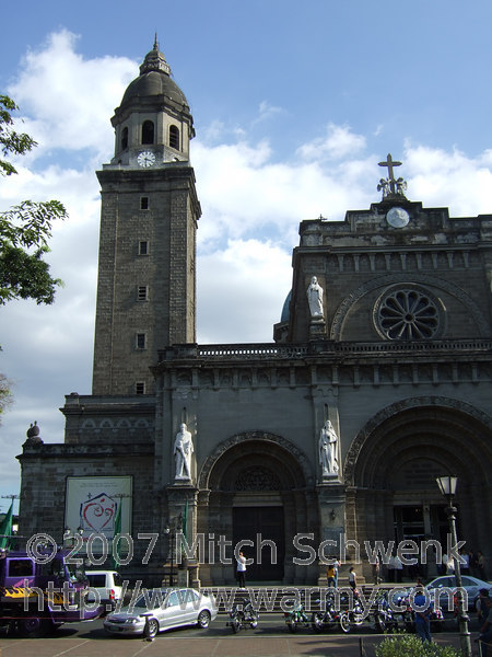 A church inside Intramuros