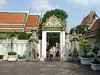 Wat Pho - Largest reclining budda in Thailand.