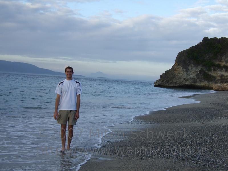 Me on White Beach, enjoying the amazing weather.