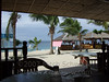 The view from a restaurant  on White Beach, Puerto Galera, Philippines.