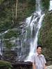 Tomas at Tamaraw Falls.