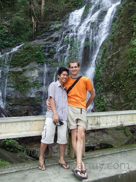 Tomas and I at Tamaraw Falls.