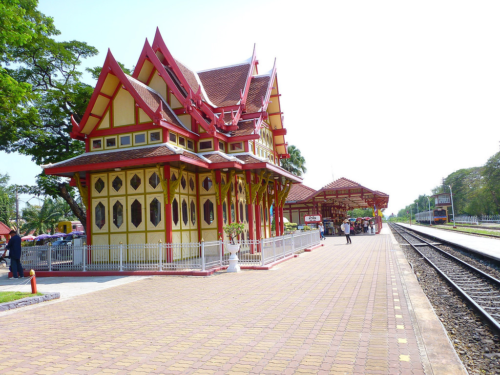 Train Station Hua Hin Thailand