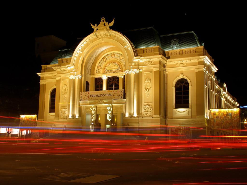 Opera House Ho Chi Min City, Saigon, Vietnam.