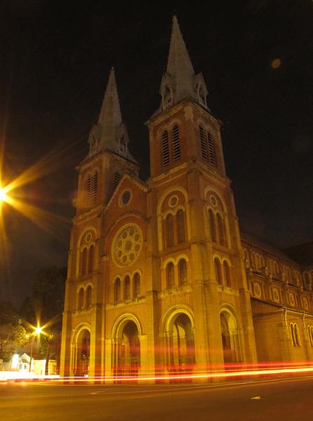 Cathedral Ho Chi Min City, Saigon, Vietnam