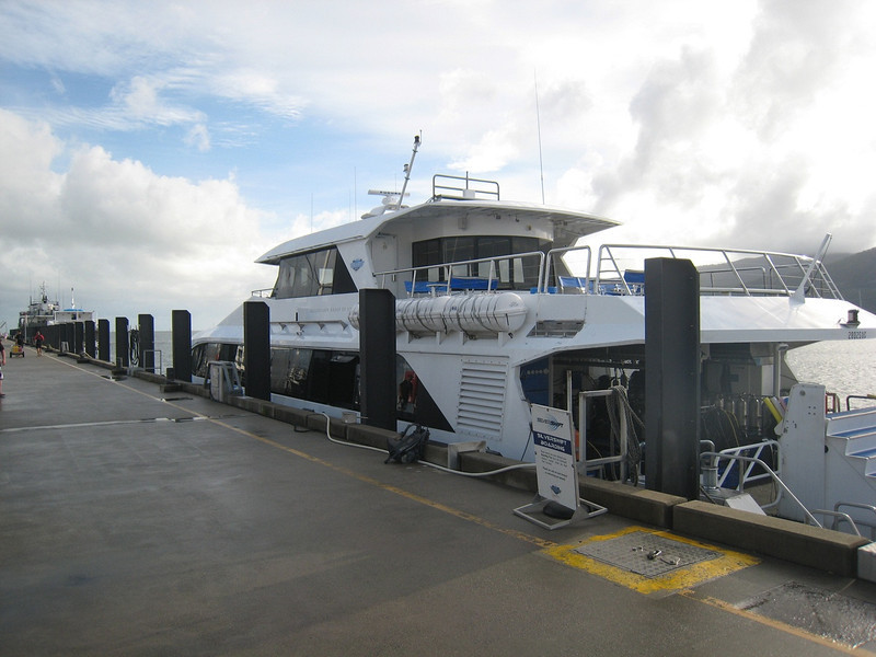 My ride to the outer reefs, 40km east off Cains Australia..  Great crew.  Excellent boat.