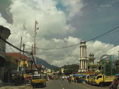 Highlands region near Bandung Indonesia