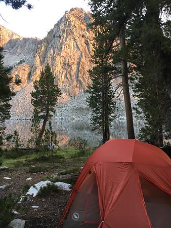 Camp #12, at Lower State Lake