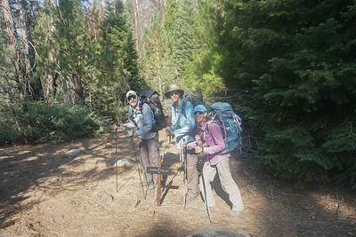 Day 12, up (and up, and up) the Simpson Meadow trail to Lower State Lake