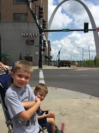 STL mini vacation, July 2016
