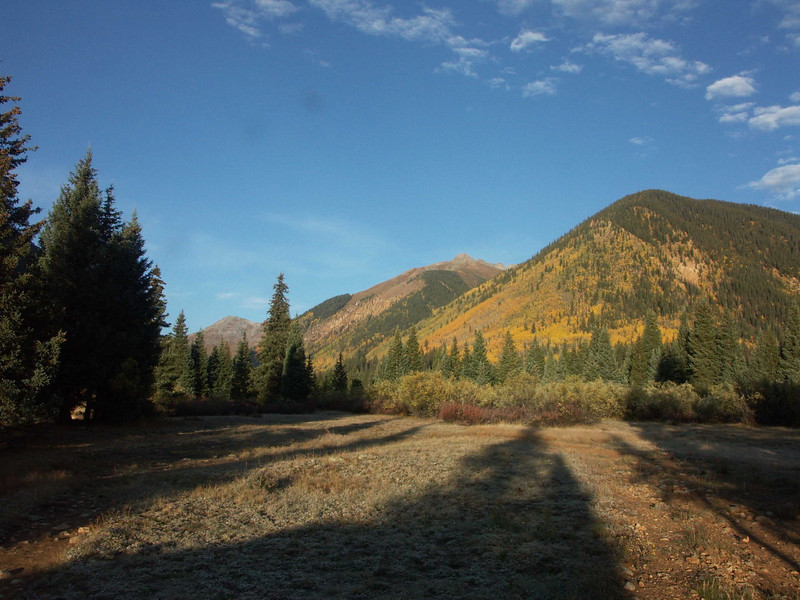 Camp site South Fork Mineral Creek 3 miles NW of Silverton Colorado