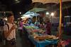 Yummy stalls at the Krabi night market
