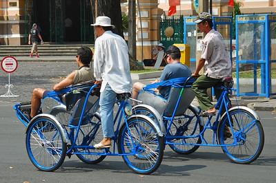 Common but dangerous transportation - Saigon
