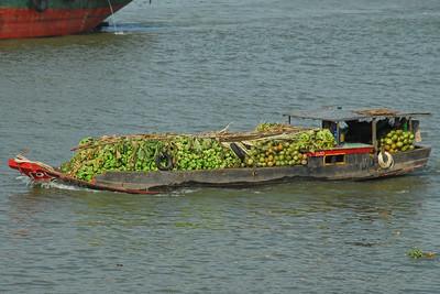 Saigon River boat