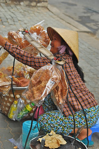 Street vendors in Ho Chi Minh City