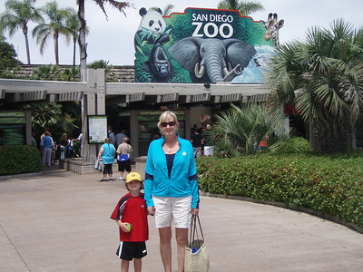 San Diego Zoo/ Day at the beach